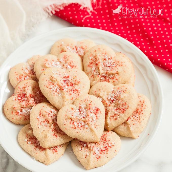 buttery spritz cookies 3