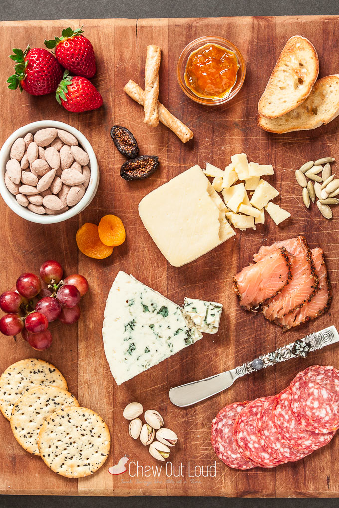 cheese platter & 12 Secrets to a Perfect Cheese Platter + Cocoa Almonds Recipe - Chew ...