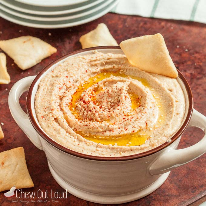 roasted garlic hummus 3