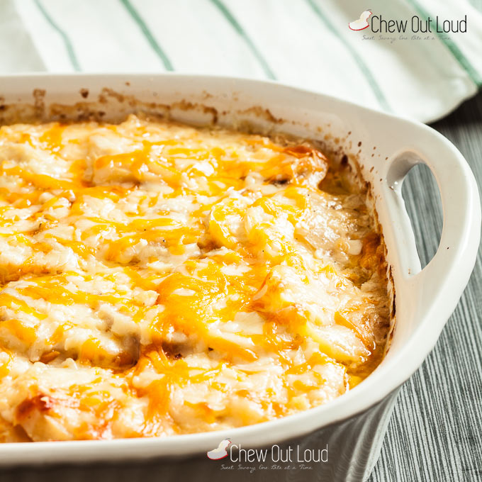 3-cheese scalloped potatoes 3