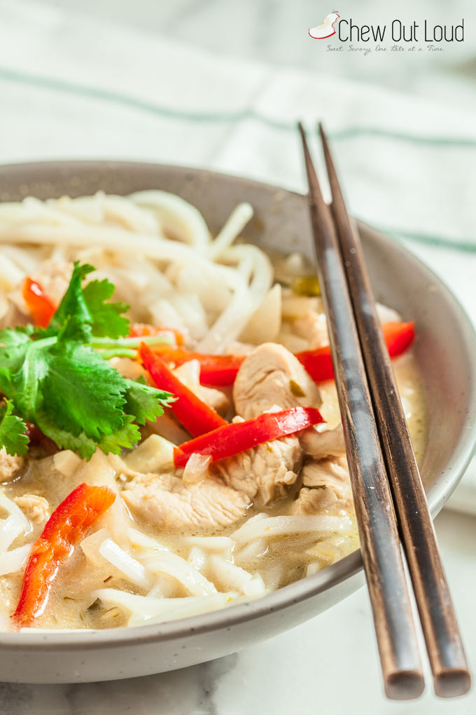 Thai Green Curry Noodles 2