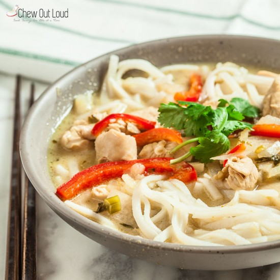 Thai Green Curry Noodles 3