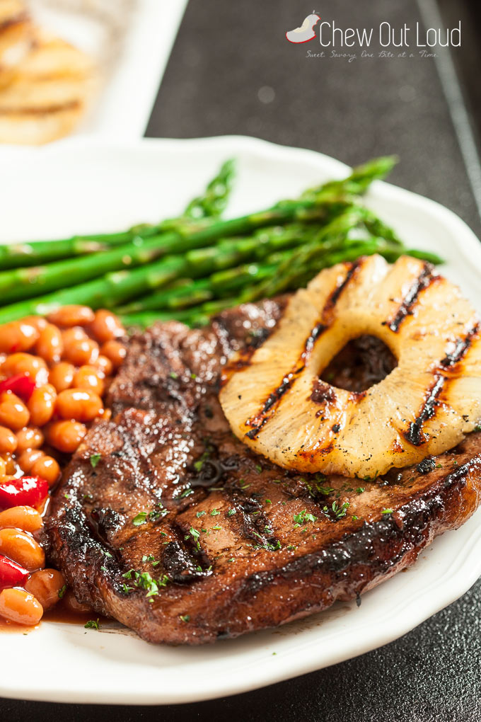 Hawaiian Grilled Pork Chops 3