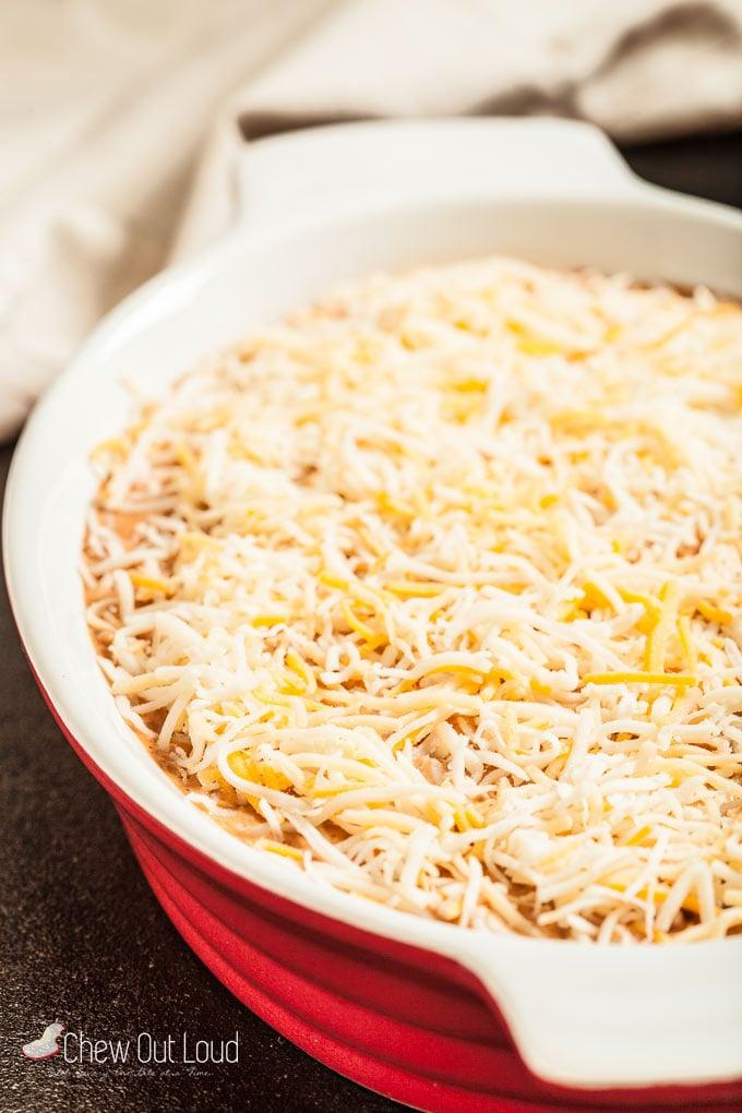 cheesy mexican bean dip 3