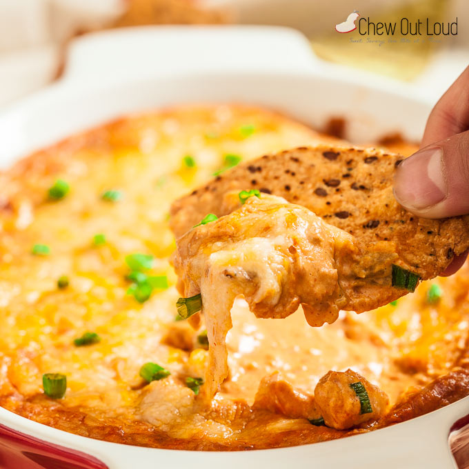 cheesy mexican bean dip 5