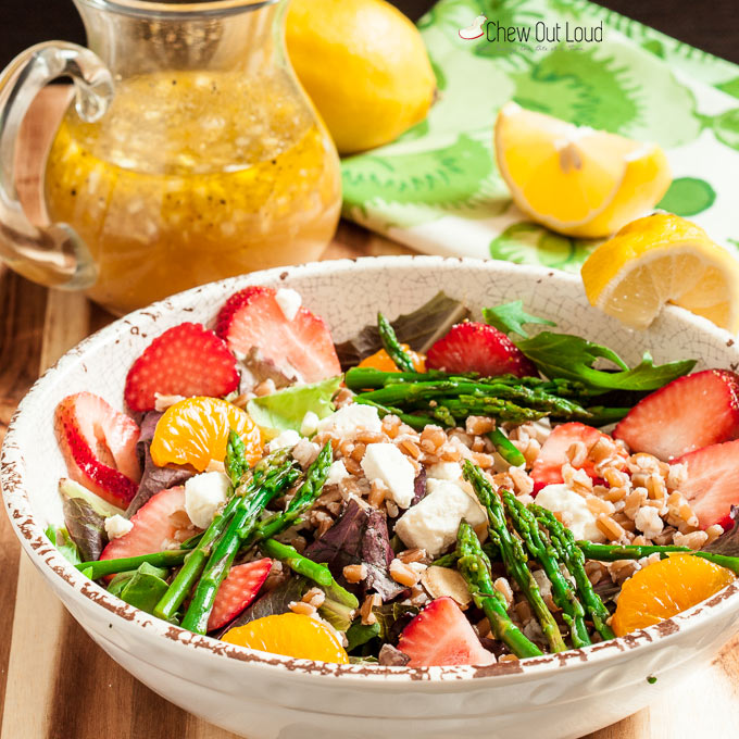strawberry asparagus farro salad 3
