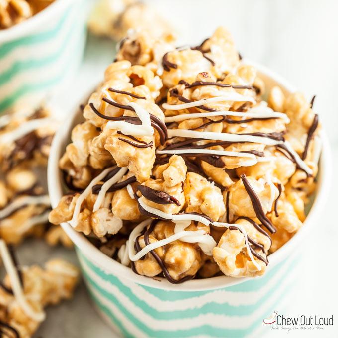 zebra popcorn caramel