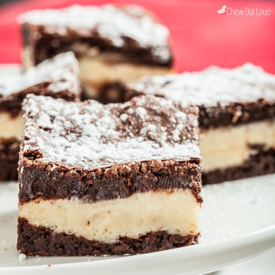 Cheesecake Brownies 2