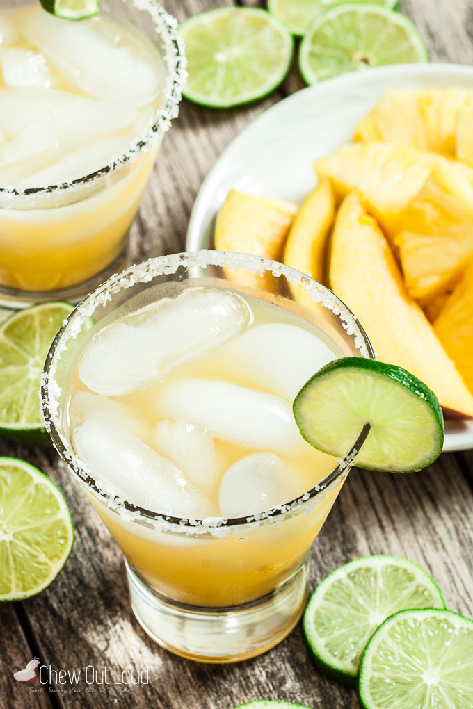 Pineapple Mango Margarita 4