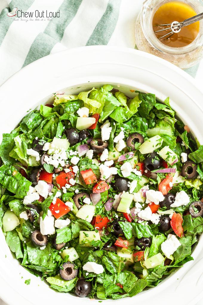 easy greek salad 3