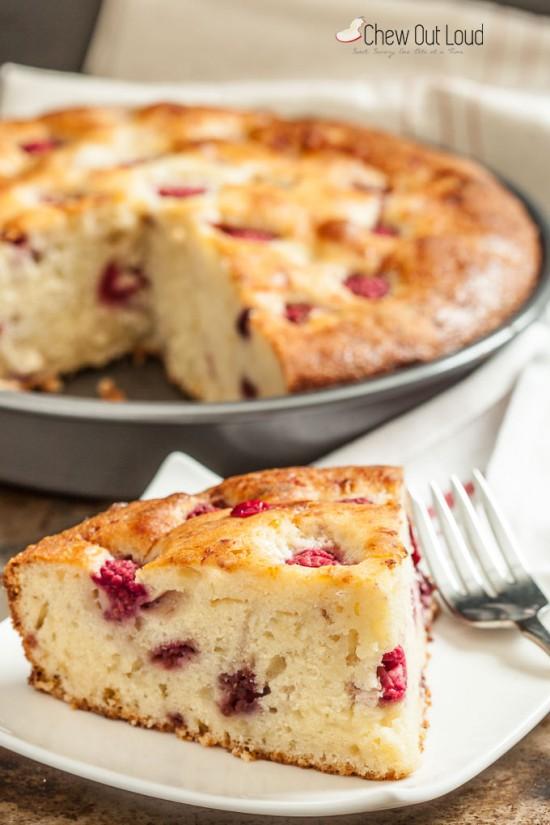 raspberry cake 4