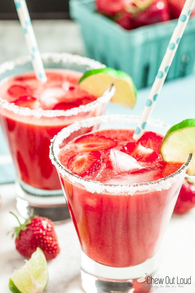 Strawberry Margaritas 3