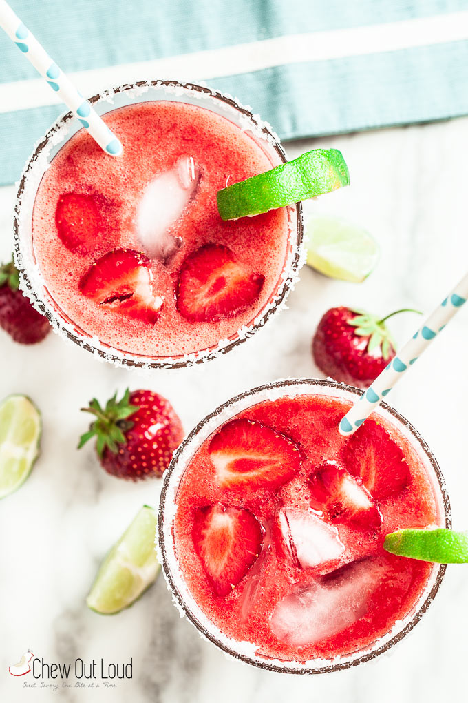 Strawberry Margaritas 4