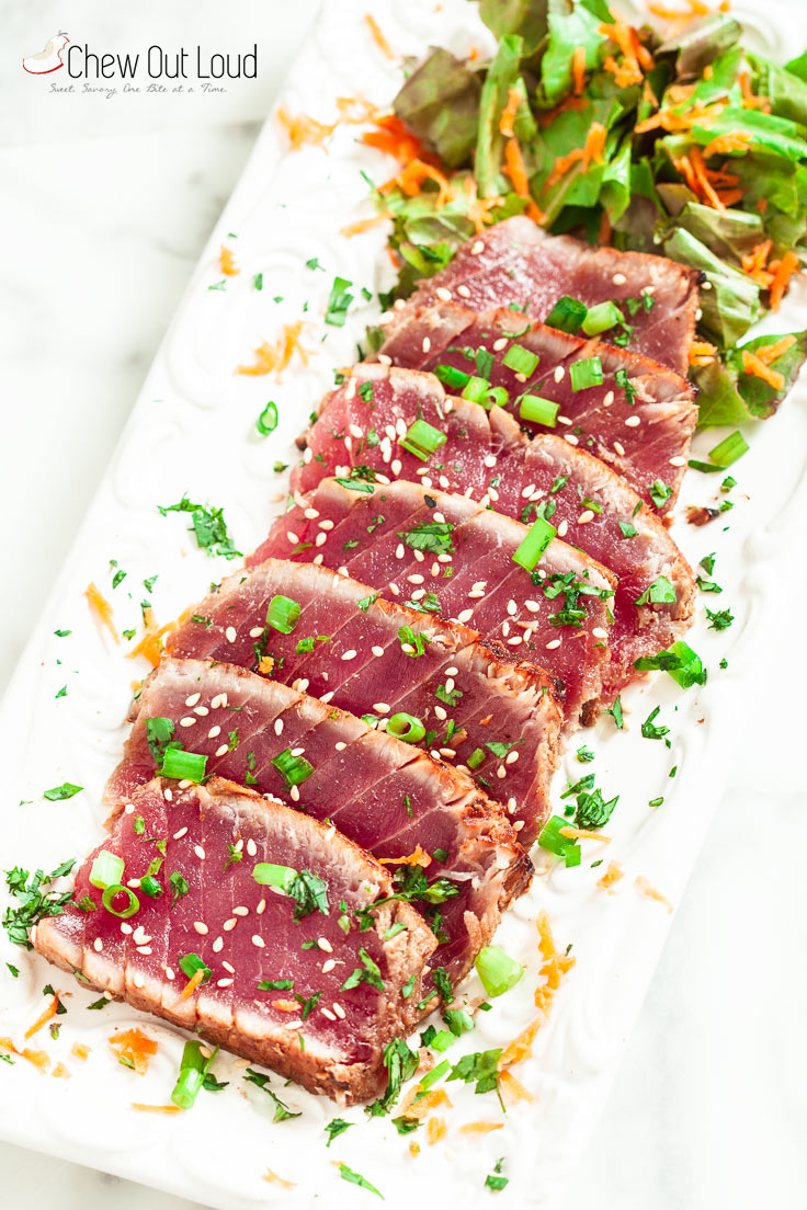 Marinated Seared Ahi 2