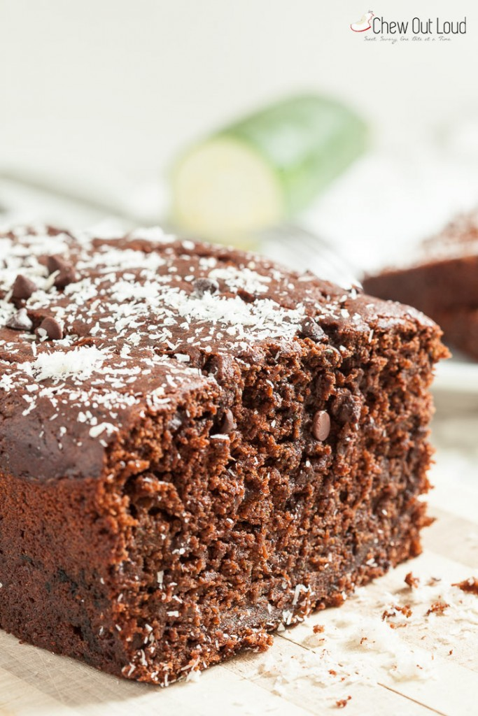 chocolate zucchini loaf bread