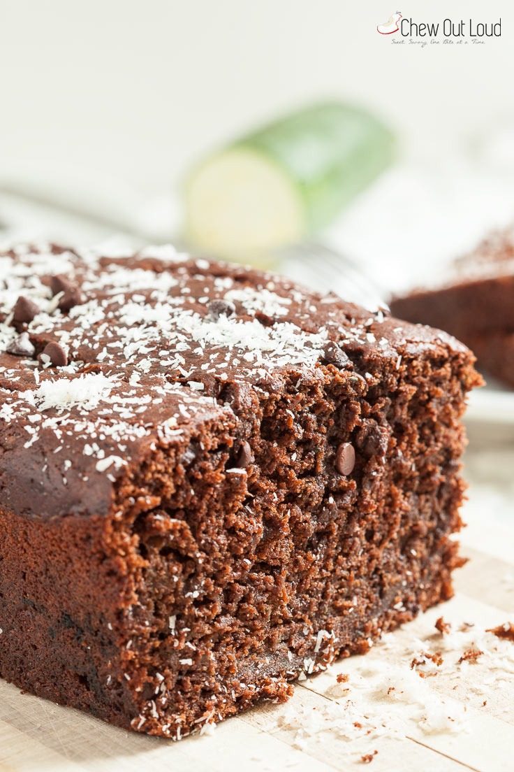 Surprise Avocado Chocolate Bread - Chew Out Loud