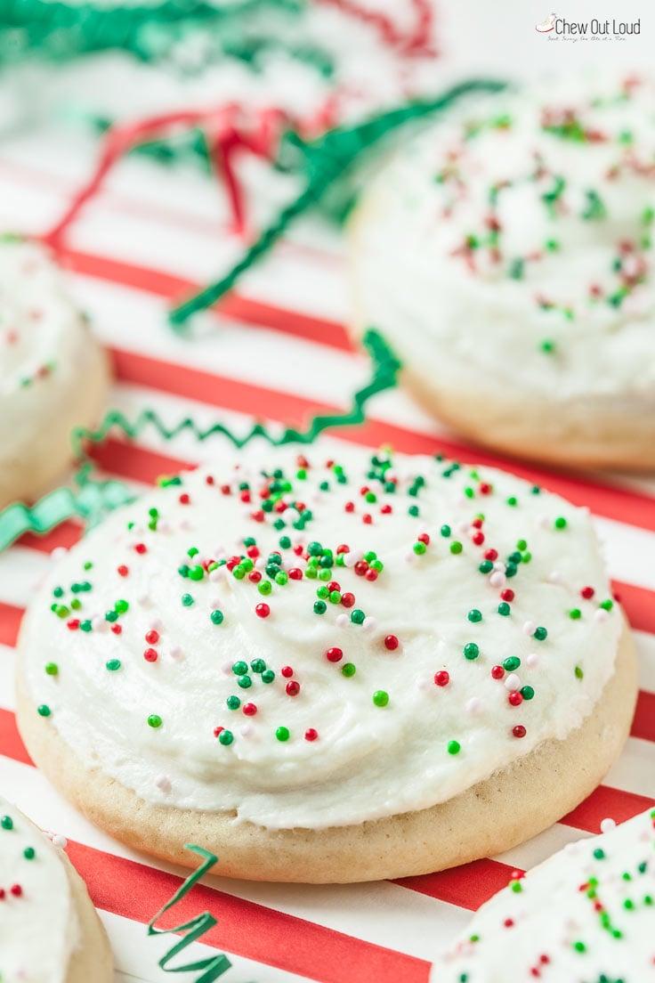 lofthouse daisy cookies 7 - Best Christmas Sugar Cookies
