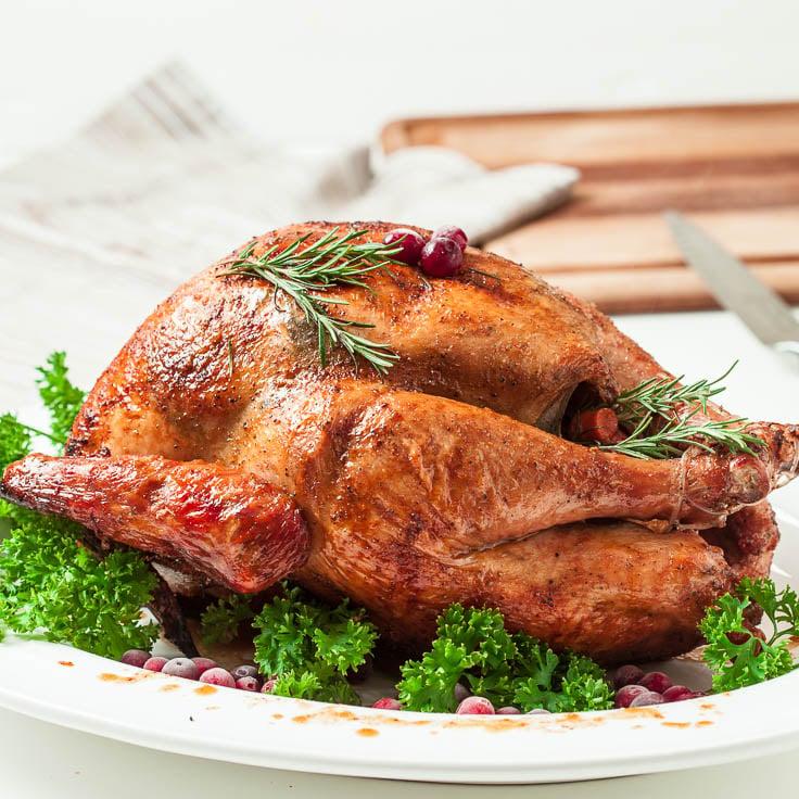 brine turkey, roast turkey, brine and roast turkey