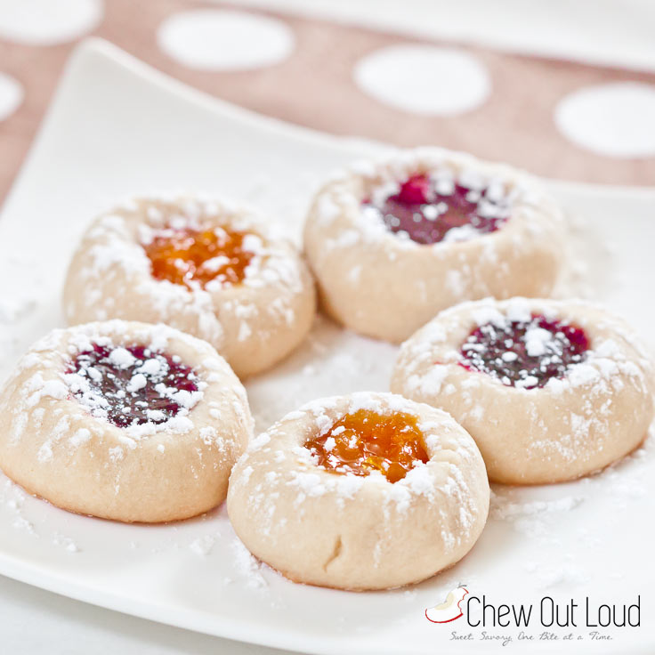 Buttery Jam Thumbprint Cookies | Christmas Cookie Recipes For A Sweeter Holiday | Homemade Recipes