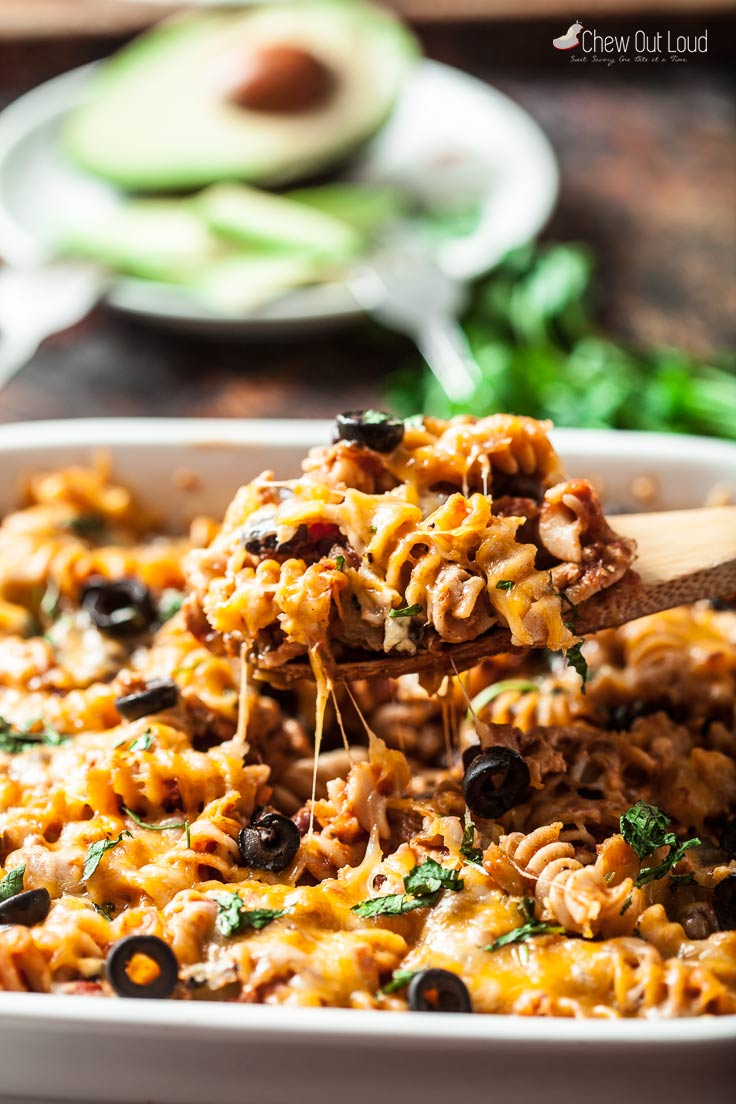 25-Minute healthy mexican pasta bake 3