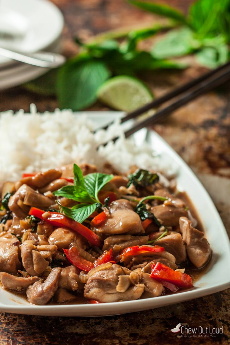 Thai Basil Chicken 3