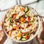 easiest summer italian pasta salad
