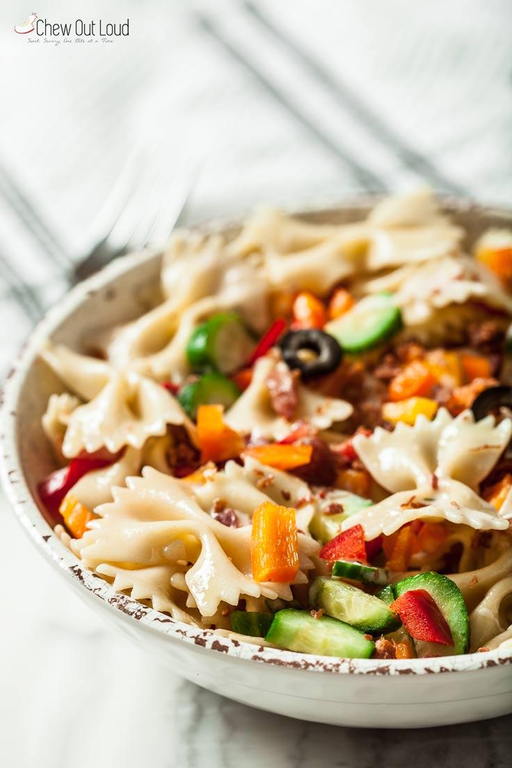 easiest pasta salad 2