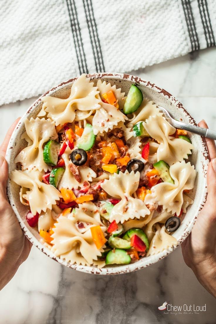 easiest pasta salad 3