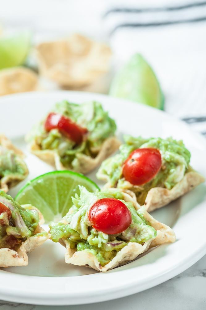 healthy guacamole chicken salad