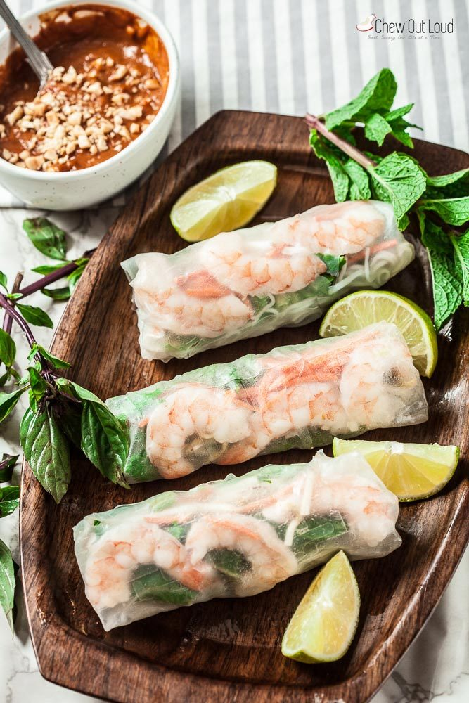 How To Make Vietnamese Spring Rolls Gluten Free Chew Out Loud