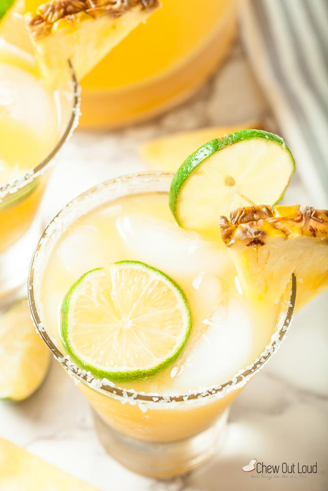 Big Batch Pineapple Margaritas 2
