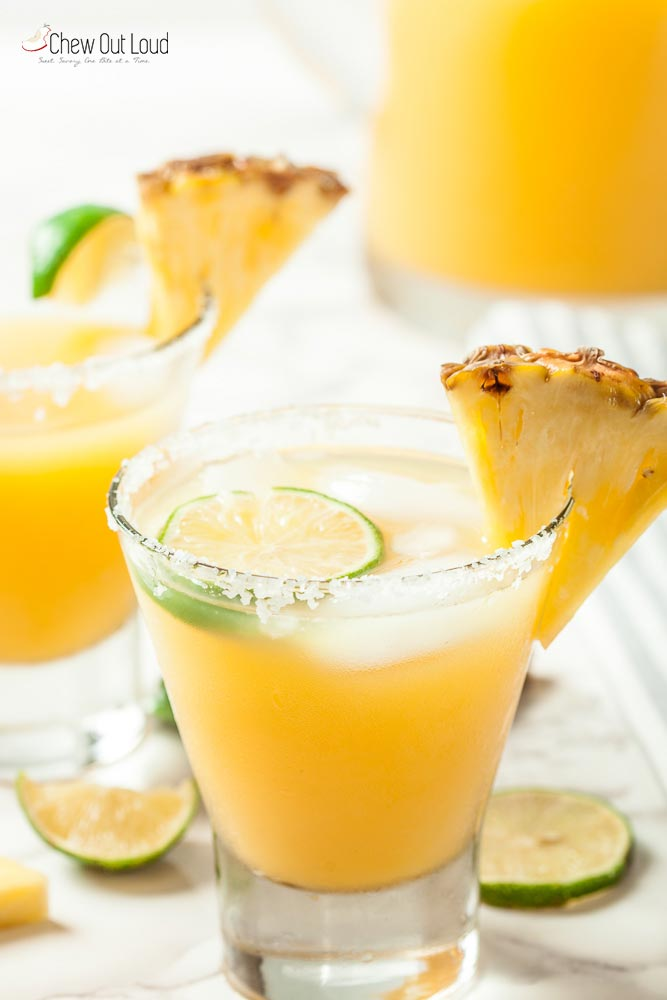 Big Batch Pineapple Margaritas 3