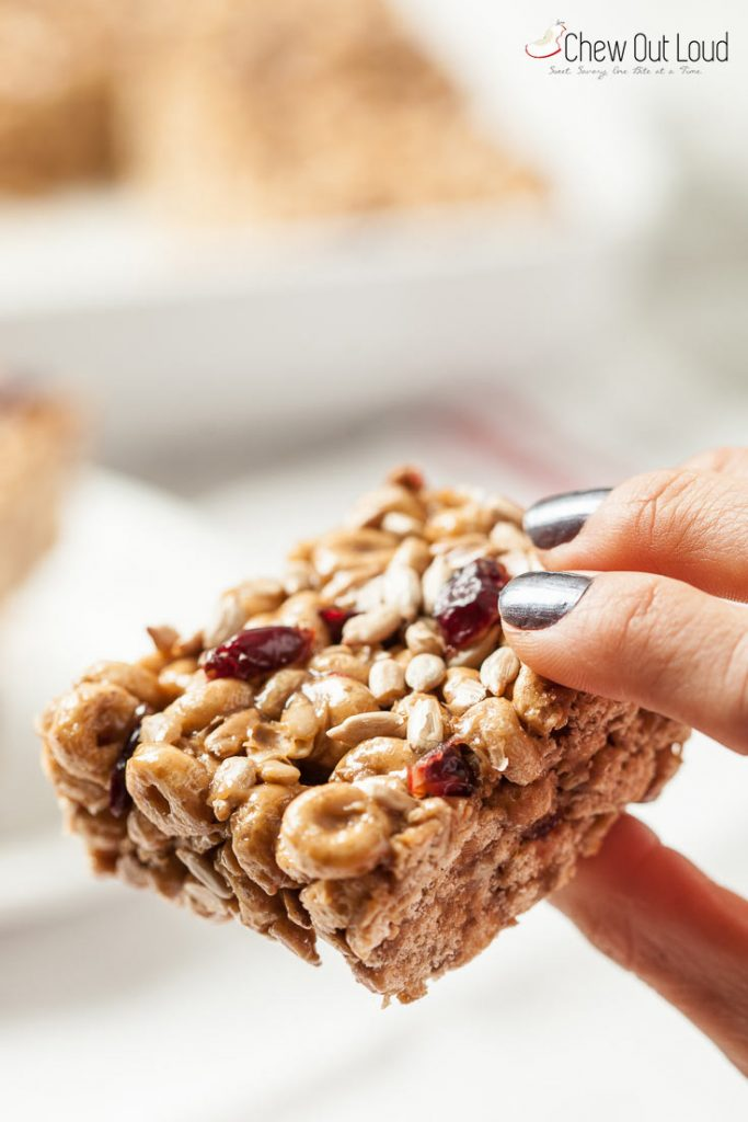 nut-free gluten-free cereal protein bars