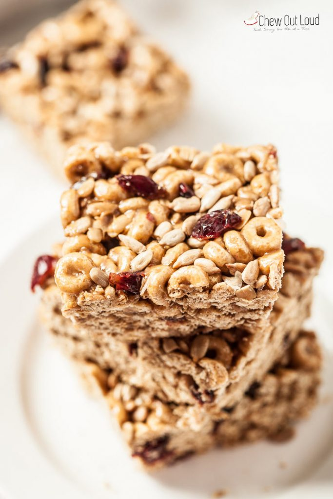 nut-free, gluten-free cereal protein bars