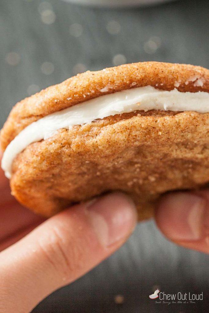 snickerdoodles snickerdoodle sandwich cookies