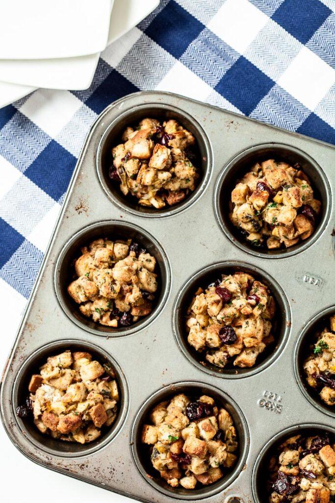 stuffing muffins, stuffing recipe