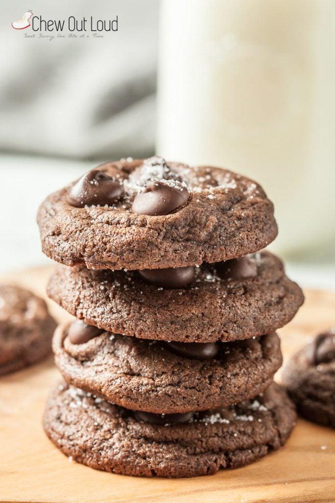 bakery double chocolate cookies