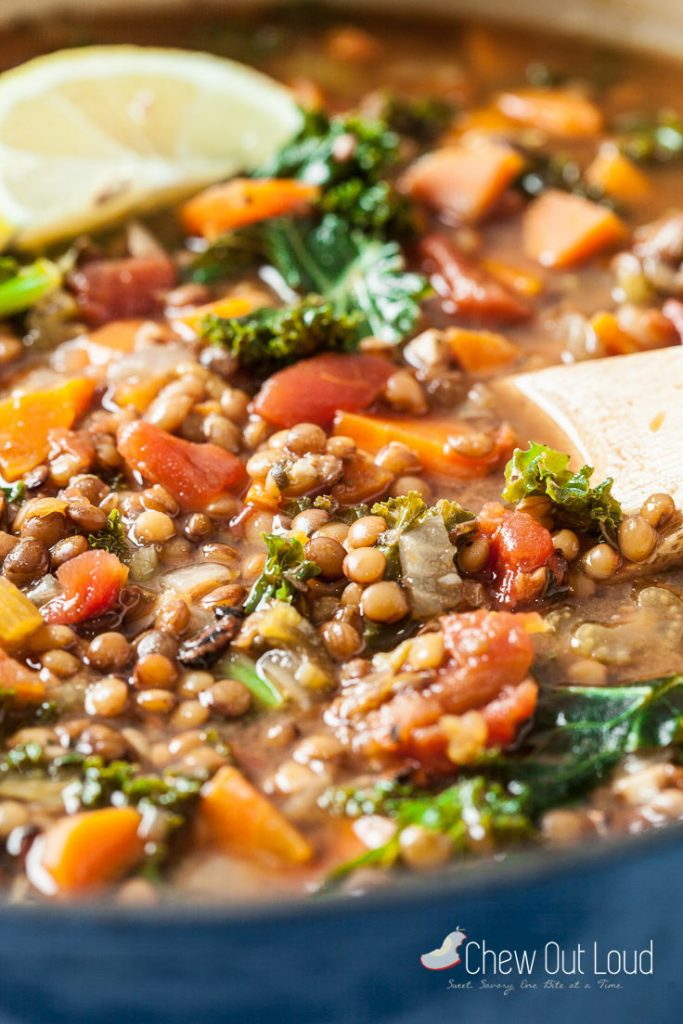 lemon lentil soup recipe