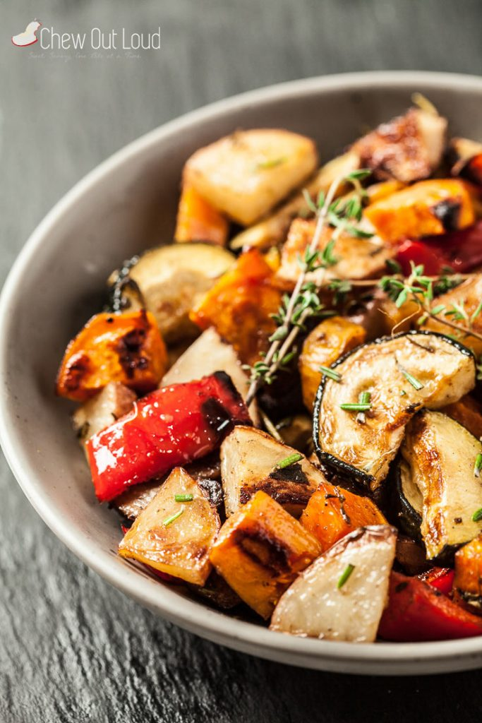easy best roasted vegetables
