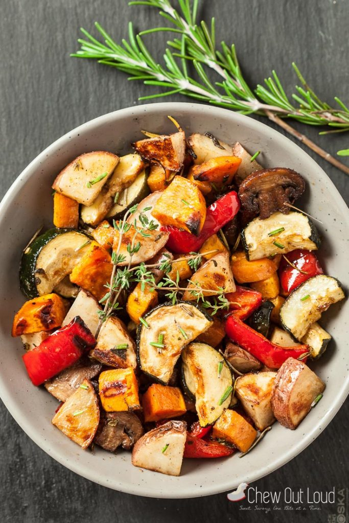 best easy roasted vegetables recipe