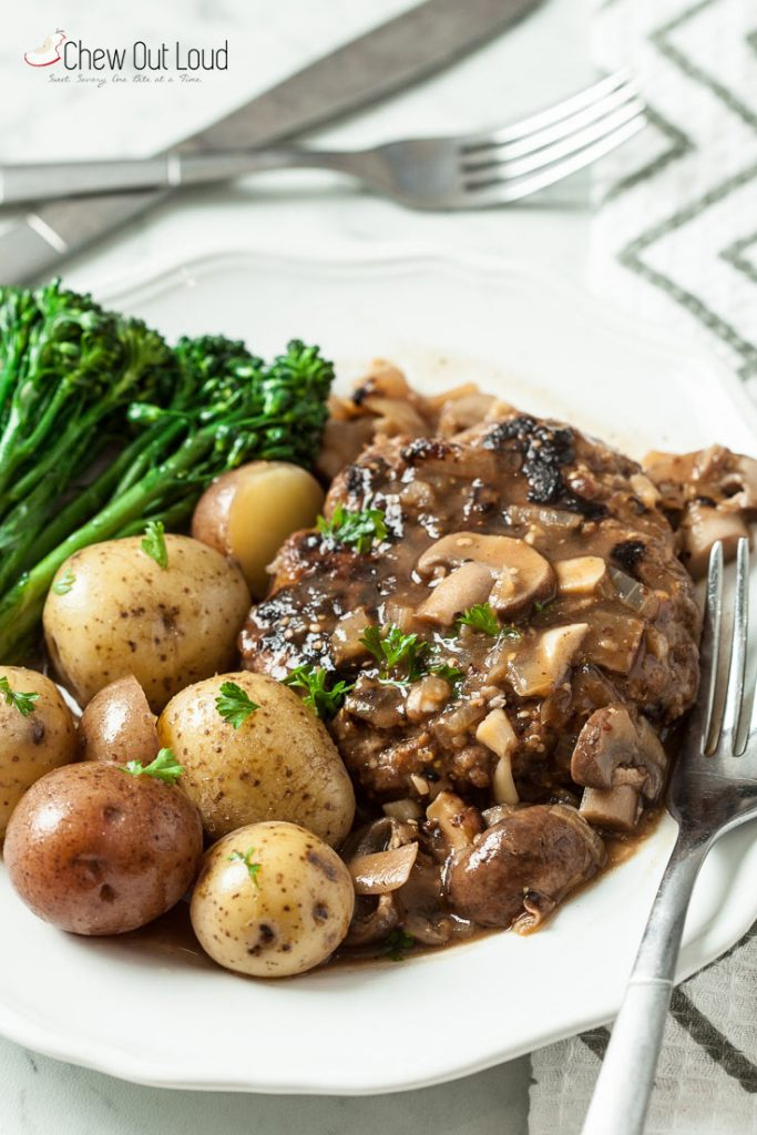 easy salisbury steak recipe salisbury steak gravy