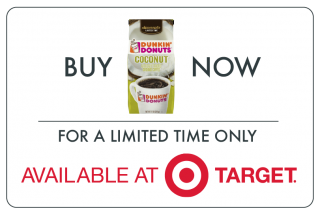 Buy Dunkin Donuts Coffee at Target
