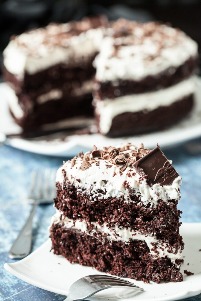 Baileys Irish Cream Chocolate Cake With Whipped Frosting Chew Out Loud