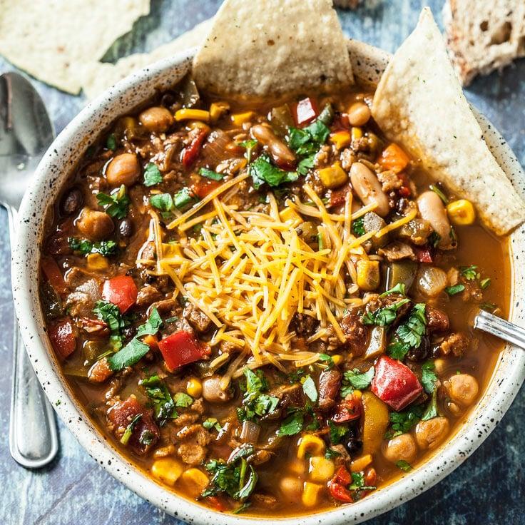 vegetarian chili, vegan chili