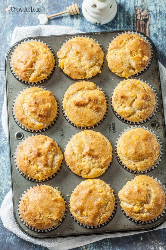 cornbread muffins honey cornbread muffins recipe