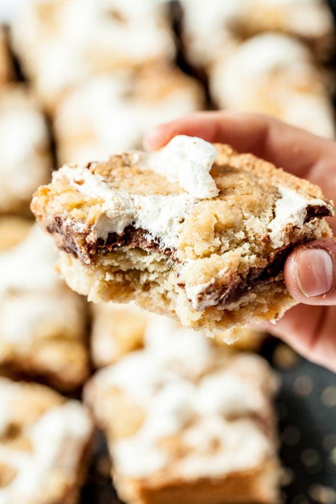 s'mores bars s'mores dessert bars recipe