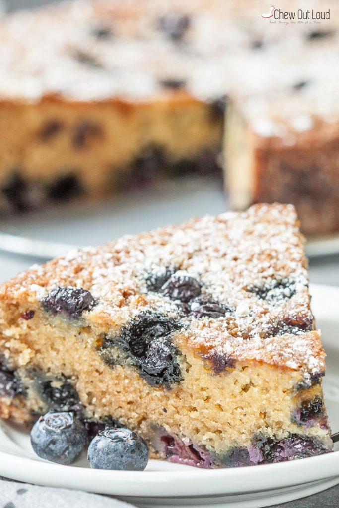 blueberry sour cream cake recipe blueberry cake recipe breakfast cake