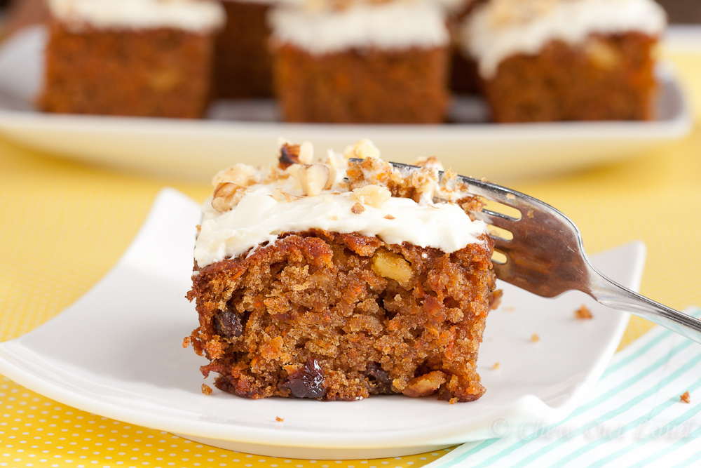 Carrot Cake With Cream Cheese Frosting Chew Out Loud