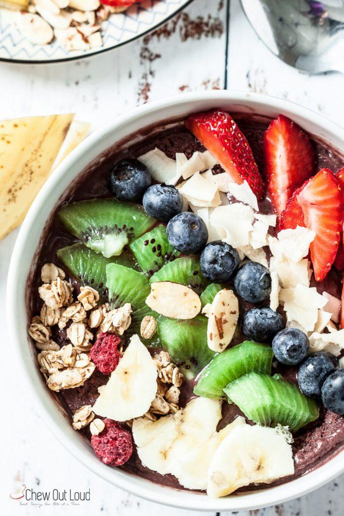 acai smoothie recipe acai berry smoothie acaí smoothie bowl recipe