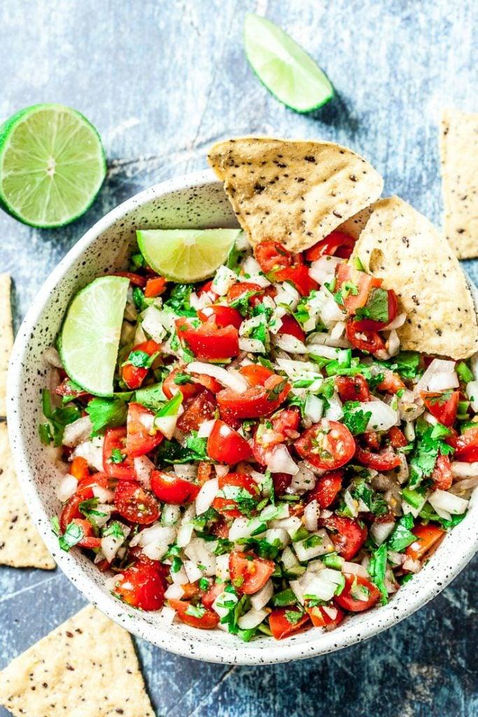 pico de gallo recipe fresh salsa recipe what is pico de gallo